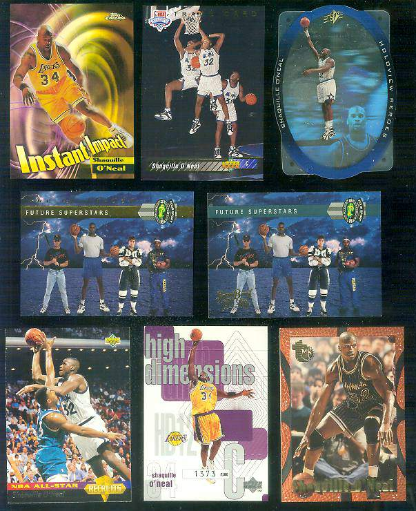 1992 Classic Four Sport #LP15 Shaquille O'Neal FUTURE SUPERSTARS Basketball cards value