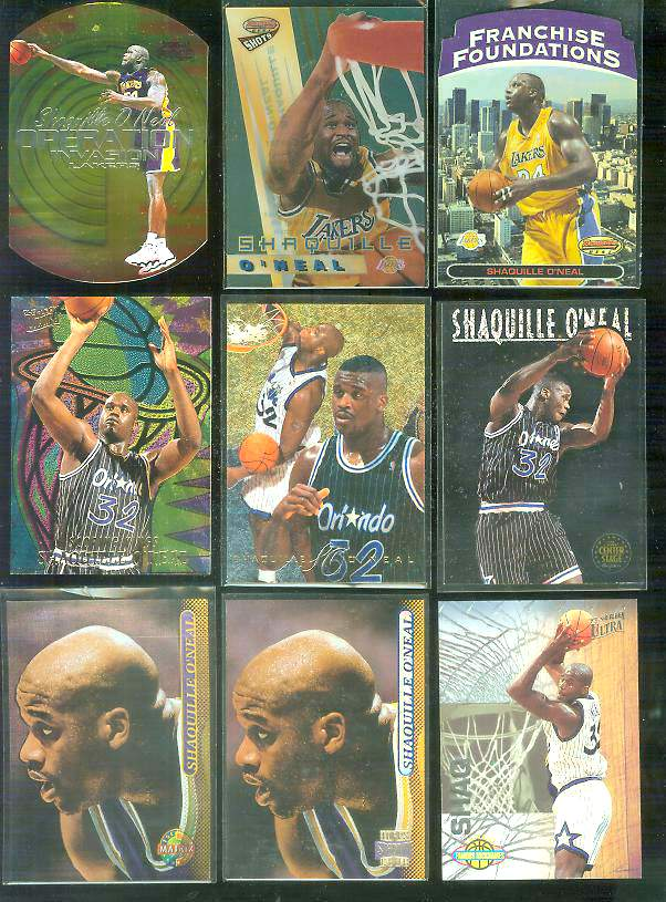 1993-94 Ultra 'Famous Nicknames' #13 Shaquille O'Neal Basketball cards value