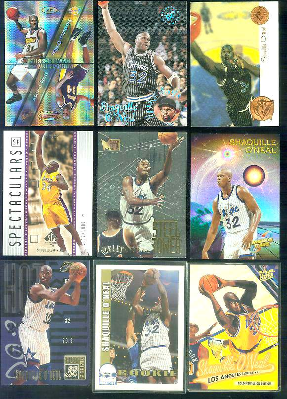 2001-02 SP Authentic #163 Shaquille O'Neal SPECTACULARS Basketball cards value