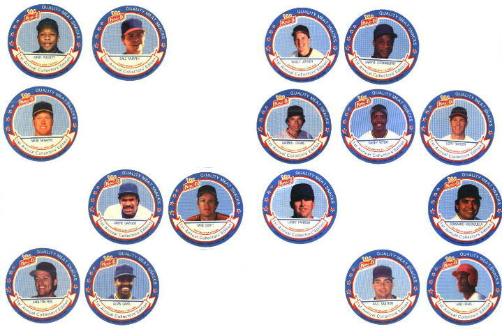 1988 King-B disc - Near Set of (16/24) Discs - FIRST YEAR ISSUE Baseball cards value