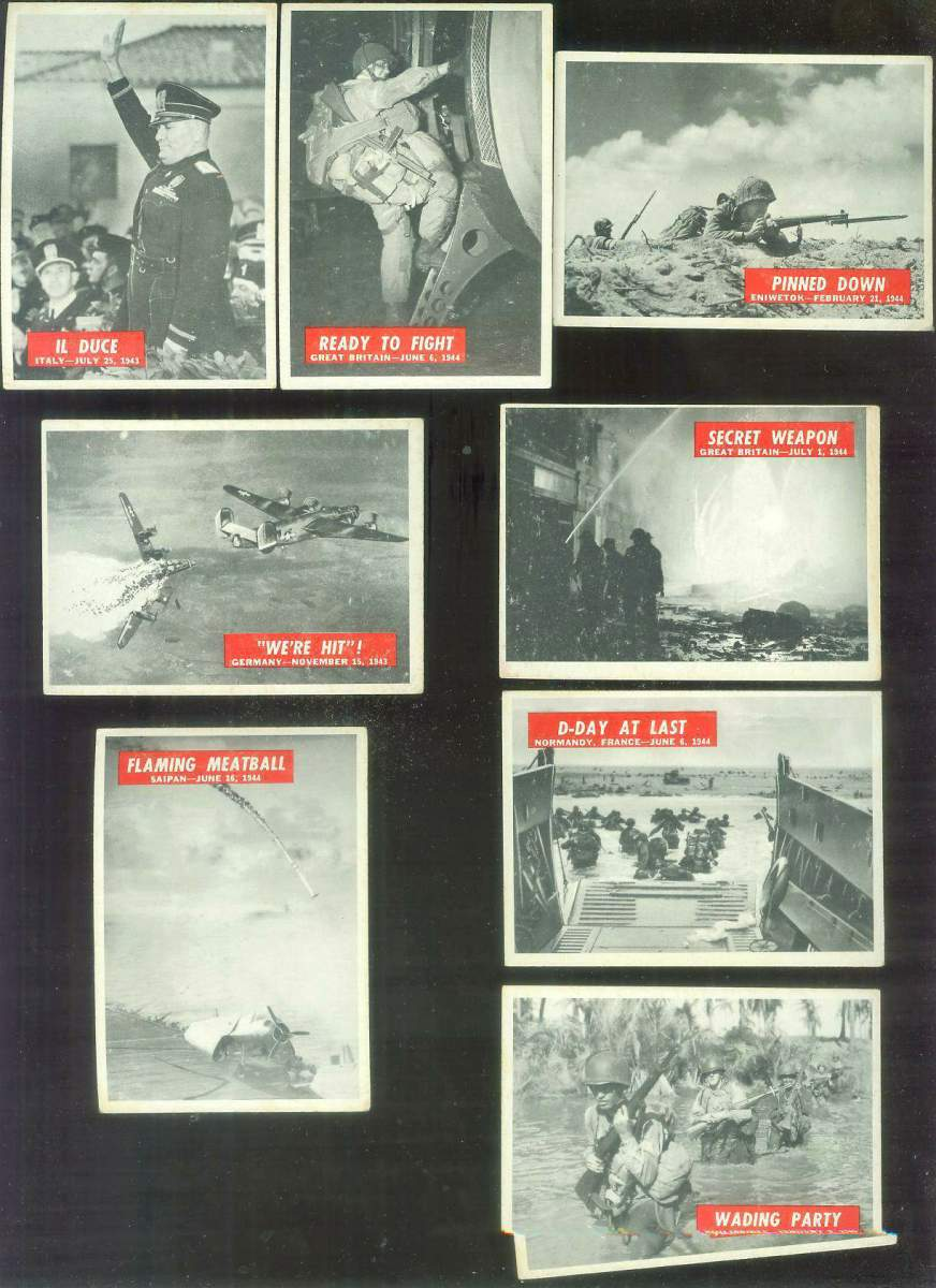 1965 Philadelphia WAR BULLETIN #24 'Il Duce' Non-Sport cards value