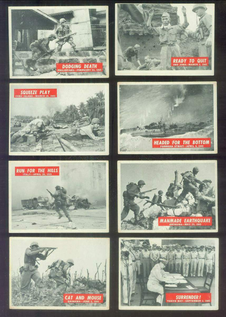 1965 Philadelphia WAR BULLETIN #87 'Surrender' Non-Sport cards value