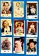 1950's Dutch/Swedish - Lot of (9) Movie Star cards