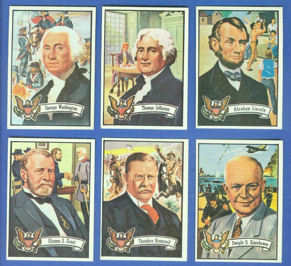 1972 Topps U.S. PRESIDENTS #25 Theodore Roosevelt Non-Sport cards value