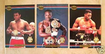 1991 RINGLORDS Boxing - COMPLETE SEALED FACTORY SET (40 cards) Non-Sports cards value