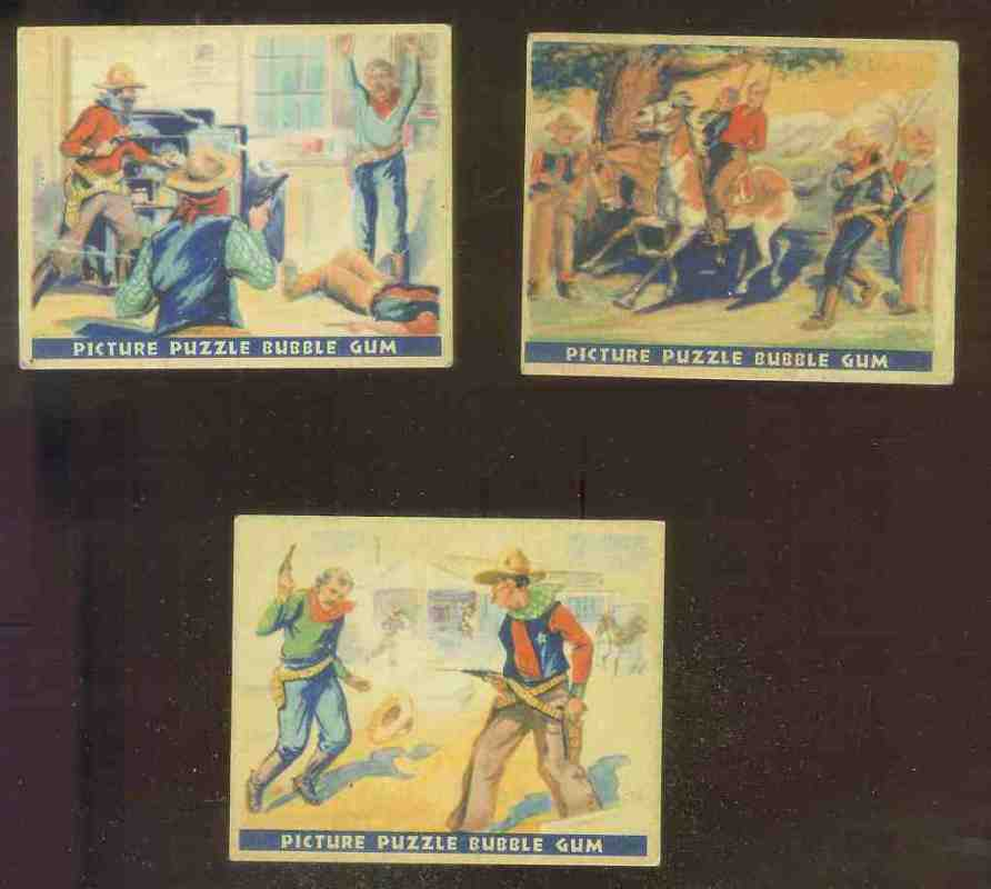 1937 Gum Inc. Wild West #46 The Hold-Up n cards value