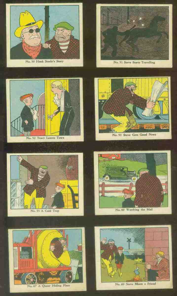 1937 Dick Tracy #50 Hank Steele's Story Non-Sport cards value