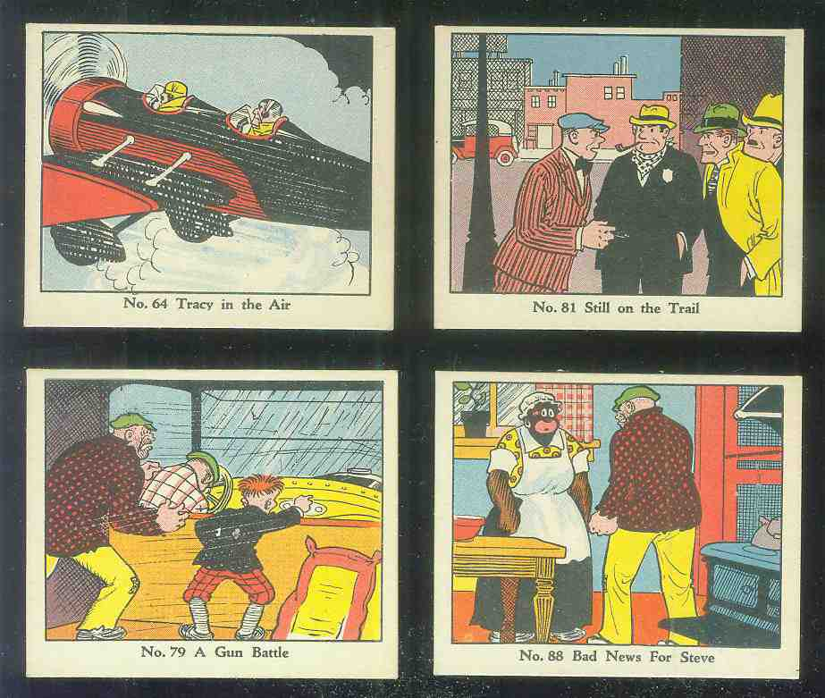 1937 Dick Tracy #88 Bad News For Steve n cards value