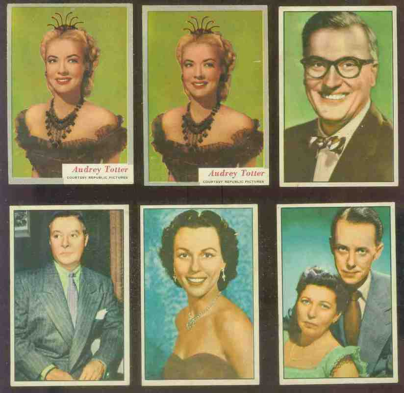 1952 Bowman TV & Radio Stars of NBC #22 Bess Myerson n cards value