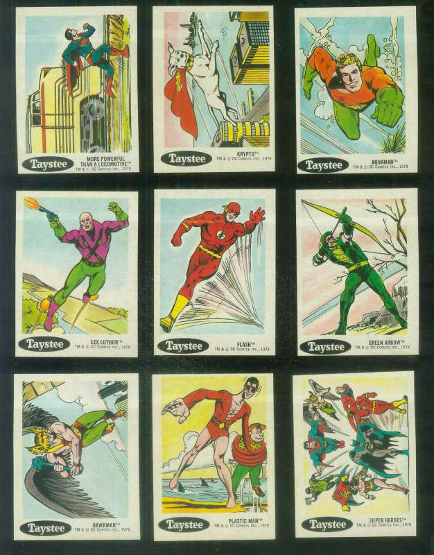 1978 Taystee Super Heroes #21 Krypto Non-Sport cards value