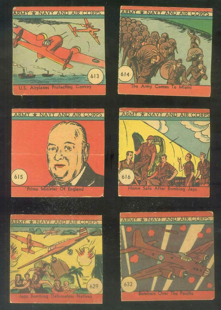 1942 Army Navy and Air Corps #614 The Army Comes to Miami Non-Sport cards value