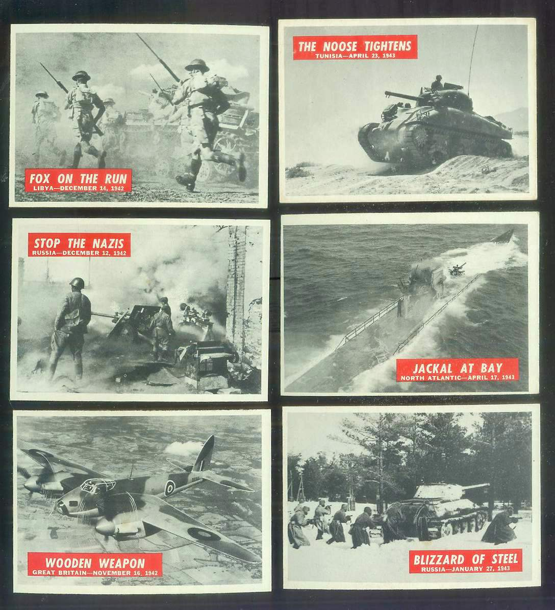 1965 Philadelphia WAR BULLETIN #16 'Fox On The Run' Non-Sport cards value