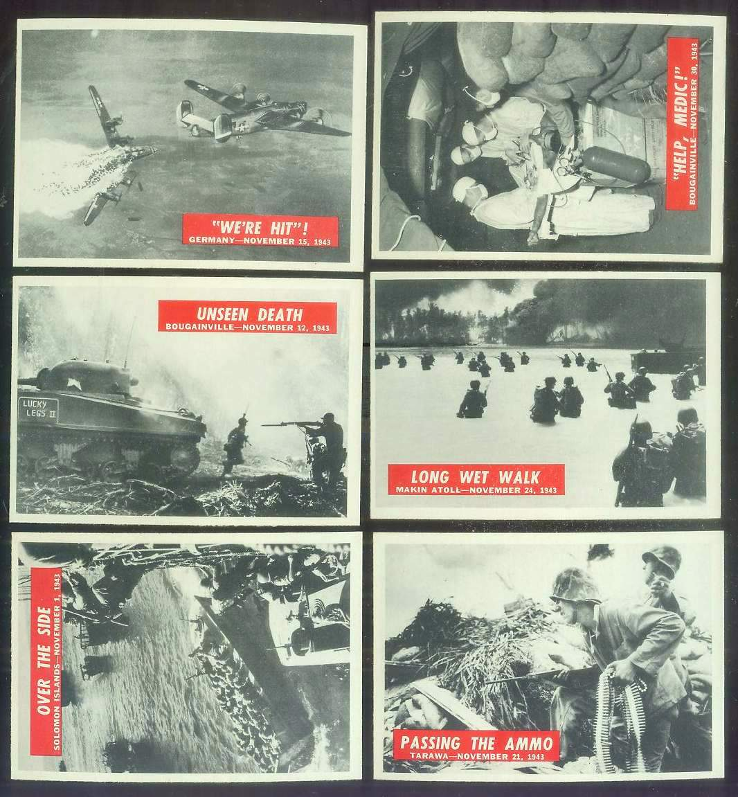 1965 Philadelphia WAR BULLETIN #32 'Long Wet Walk' Non-Sport cards value