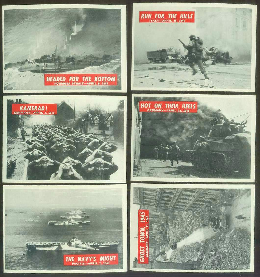 1965 Philadelphia WAR BULLETIN #74 'Hot On Their Heels' Non-Sport cards value
