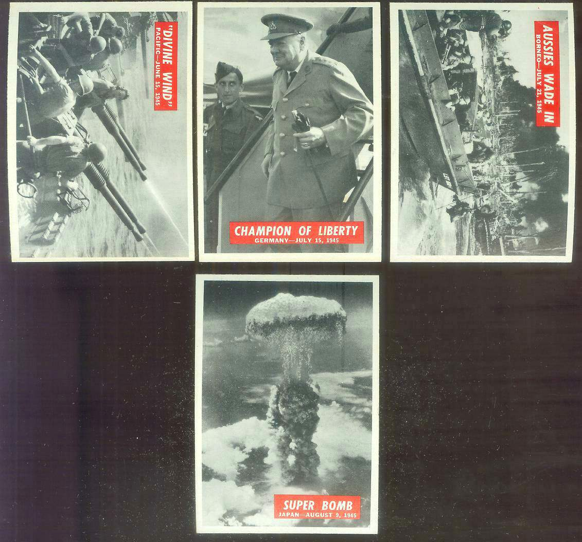 1965 Philadelphia WAR BULLETIN #82 'Divine Wind' Non-Sport cards value