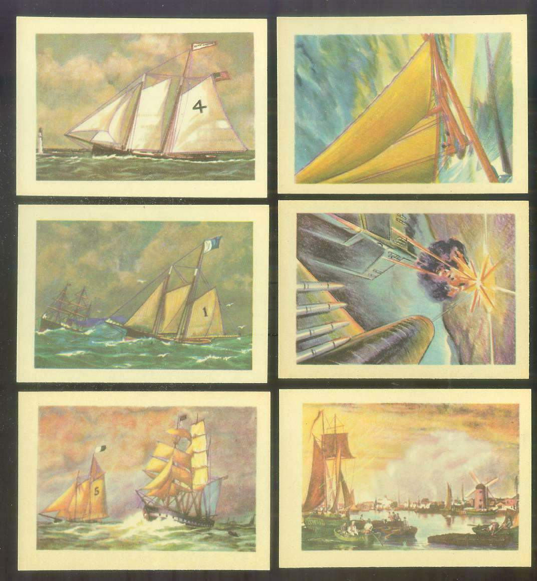 1956 GUM Inc. ADVENTURE #.51 'Boston's Skyline' Non-Sport cards value