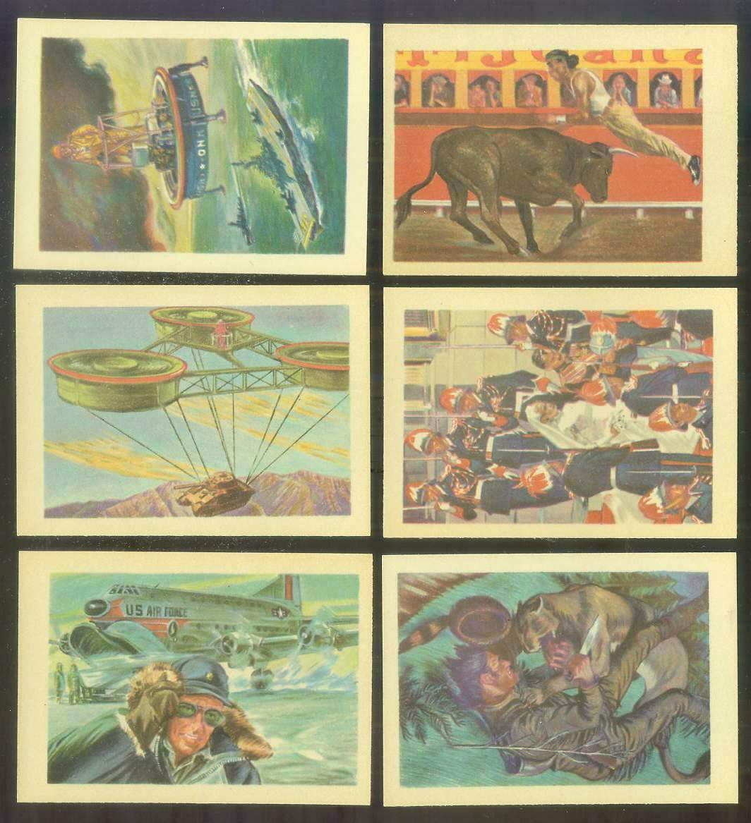 1956 GUM Inc. ADVENTURE #.61 'Flying At 3000 Miles-An-Hour' Non-Sport cards value
