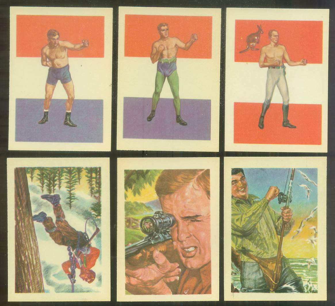 1956 GUM Inc. ADVENTURE #.80 Marvin Hart - 'Interim Champ' BOXING Non-Sport cards value