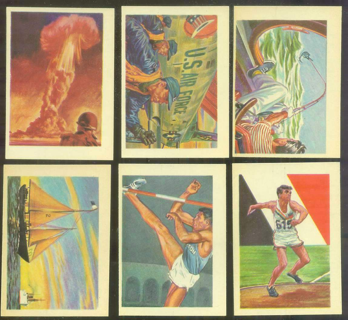 1956 GUM Inc. ADVENTURE #.94 'The Northern Light' Non-Sport cards value