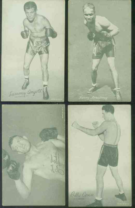 1950's Boxing Exhibit card - Billy Conn (HOF/Pittsburg) Non-Sports cards value