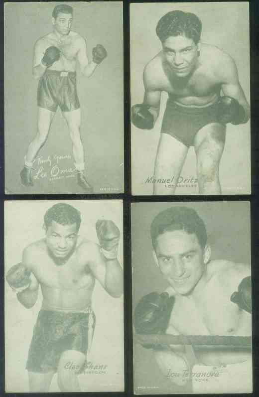 1950's Boxing Exhibit card - Cleo Shans (San Diego, CA) Non-Sports cards value