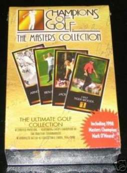 1997/98 Champions of Golf 'The Masters Collection' complete 63 card set Golf cards value
