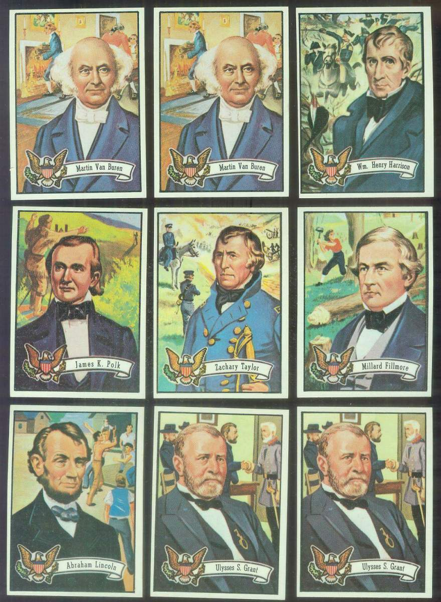 1972 Topps U.S. PRESIDENTS #11 James K. Polk Non-Sport cards value