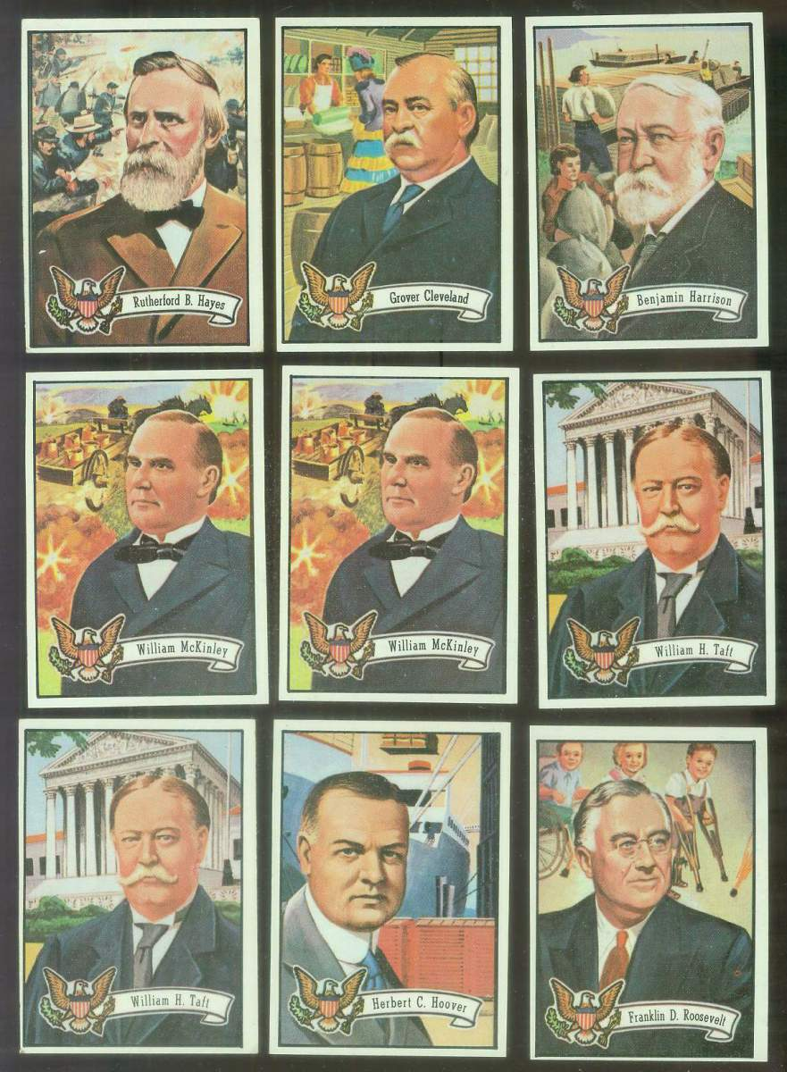 1972 Topps U.S. PRESIDENTS #31 Franklin Roosevelt Non-Sport cards value