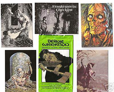 1993 Bernie Wrightson HORROR ART - COMPLETE SET (90 cards FPG cards) Non-Sport cards value