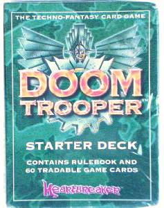 1994 DOOM TROOPER (Heartbreaker) - STARTER DECK (set) Non-Sport cards value