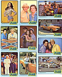 1980 Donruss DUKES OF HAZZARD - COMPLETE SET (66 cards) Non-Sport cards value