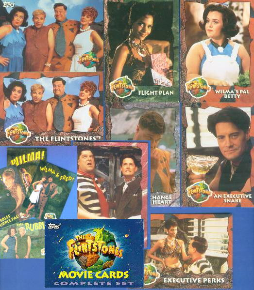 1994 Topps FLINTSTONES -  COMPLETE FACTORY SET (88 cards with EXTRAS !!!) Non-Sport cards value