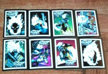 1992 Marvel GHOST RIDER II - COMPLETE SET (80)+10-Card insert set+Wrapper Non-Sport cards value