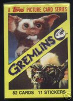 1984 Topps GREMLINS - COMPLETE SET (82 cards) Non-Sport cards value