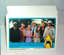 1983 JAWS 3-D - COMPLETE SET (44 cards) Non-Sport cards value