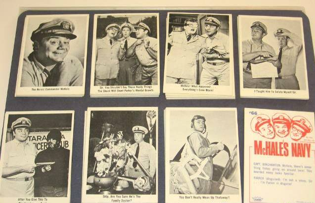1965 Fleer McHALE'S NAVY - COMPLETE SET (66 cards) Non-Sport cards value