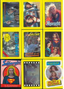 1984 Topps SUPERGIRL - Lot of (10) COMPLETE SETS (44 Sticker-Cards/set) Non-Sport cards value