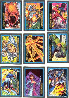 1993 Skybox ULTRAVERSE I - COMPLETE SET (100 cards) Non-Sport cards value