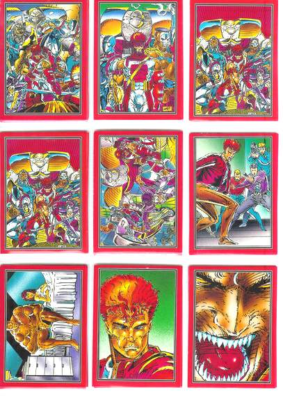 1992 Comic Images YOUNGBLOOD - COMPLETE SET (90) + (4) FREE INSERTs n cards value