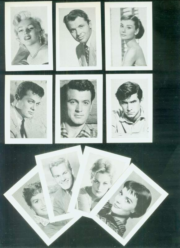 Marilyn Monroe - Film Stars card (b&w) Non-Sport cards value