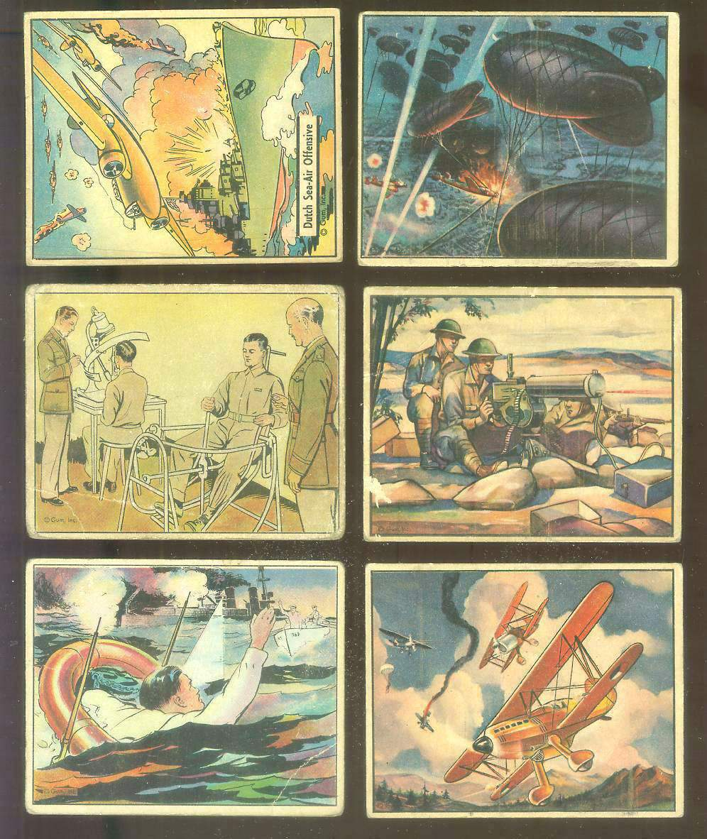 1941 WAR GUM #.22 'Dutch Sea-Air Offensive' Non-Sport cards value