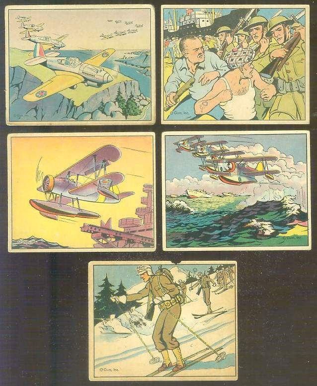 1941 Gum Inc. UNCLE SAM's #43 'Airman - Formation Flying' Non-Sport cards value