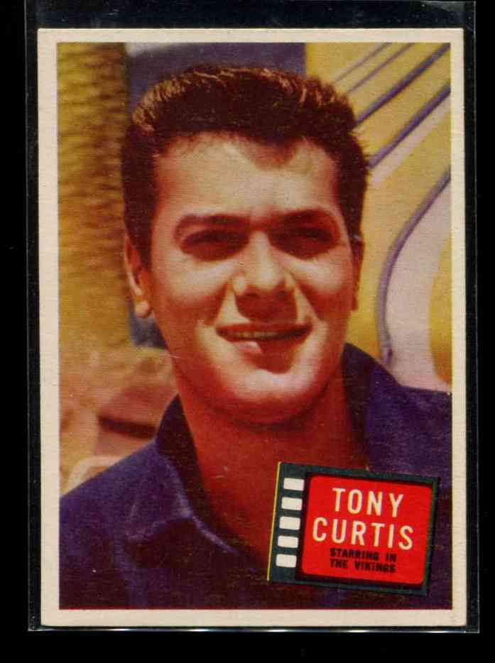1957 Topps Hit Stars #69 Tony Curtis n cards value