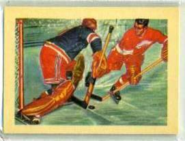 1956 GUM Inc. ADVENTURE #.63 GORDIE HOWE 'Hockey's Hardy Perennials' Hockey cards value