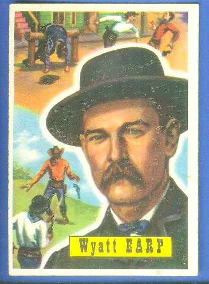 1956 Topps ROUND UP #31 WYATT EARP Non-Sport cards value