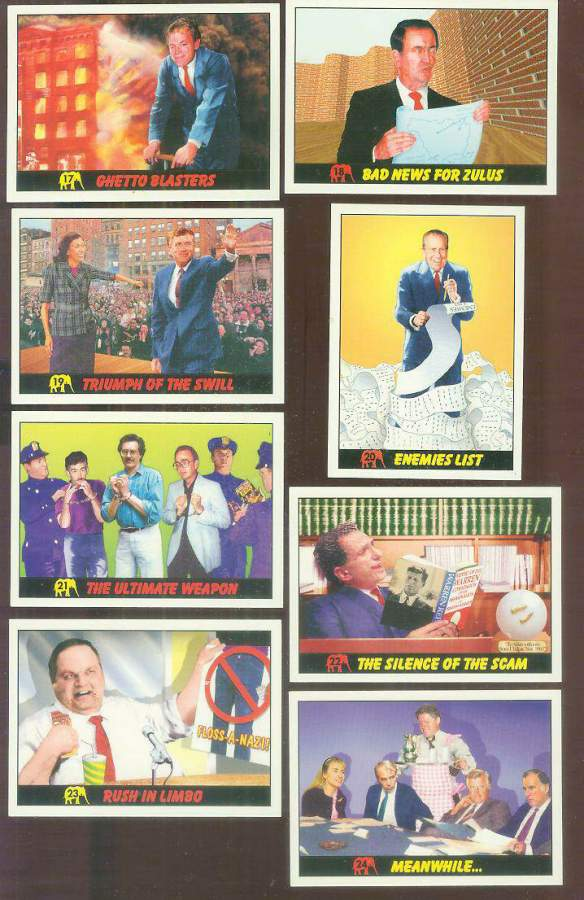 1992 Republicans Attack! #24 'Meanwhile...' BILL & HILLARY CLINTON Non-Sport cards value