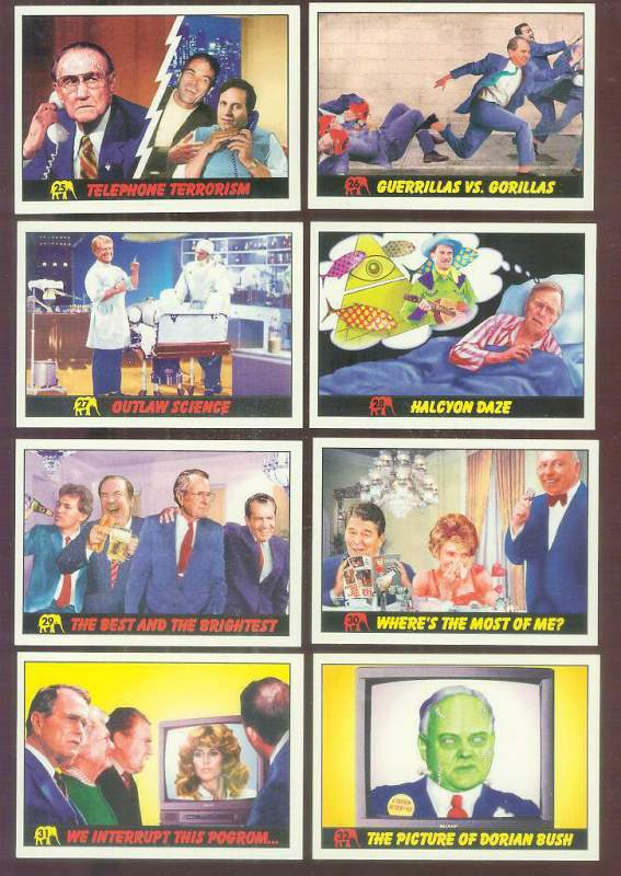 1992 Republicans Attack! #28 'Halcyon Daze' Non-Sport cards value