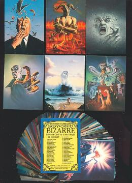 1993 Comic Images BEYOND BIZARRE - COMPLETE SET (90 cards) + Wrapper Non-Sport cards value