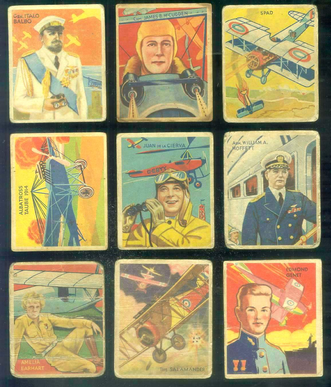 1933-34 Sky Birds #.53 Edmond Genet Non-Sport cards value