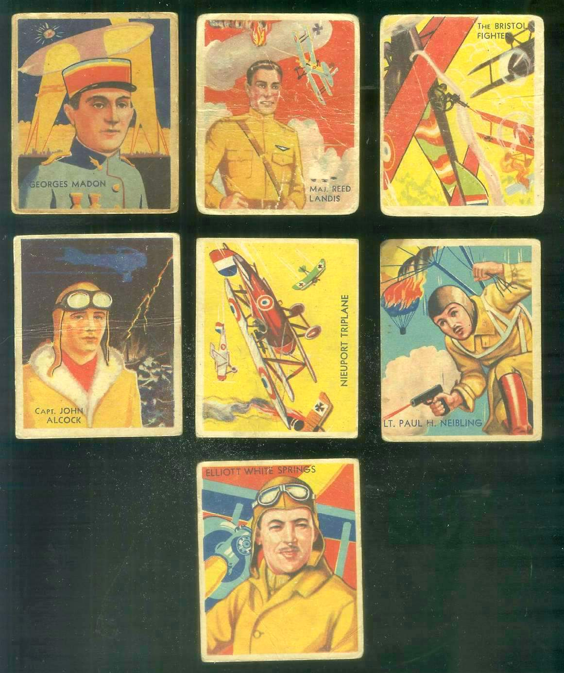 1933-34 Sky Birds #.57 The Bristol Fighter Non-Sport cards value